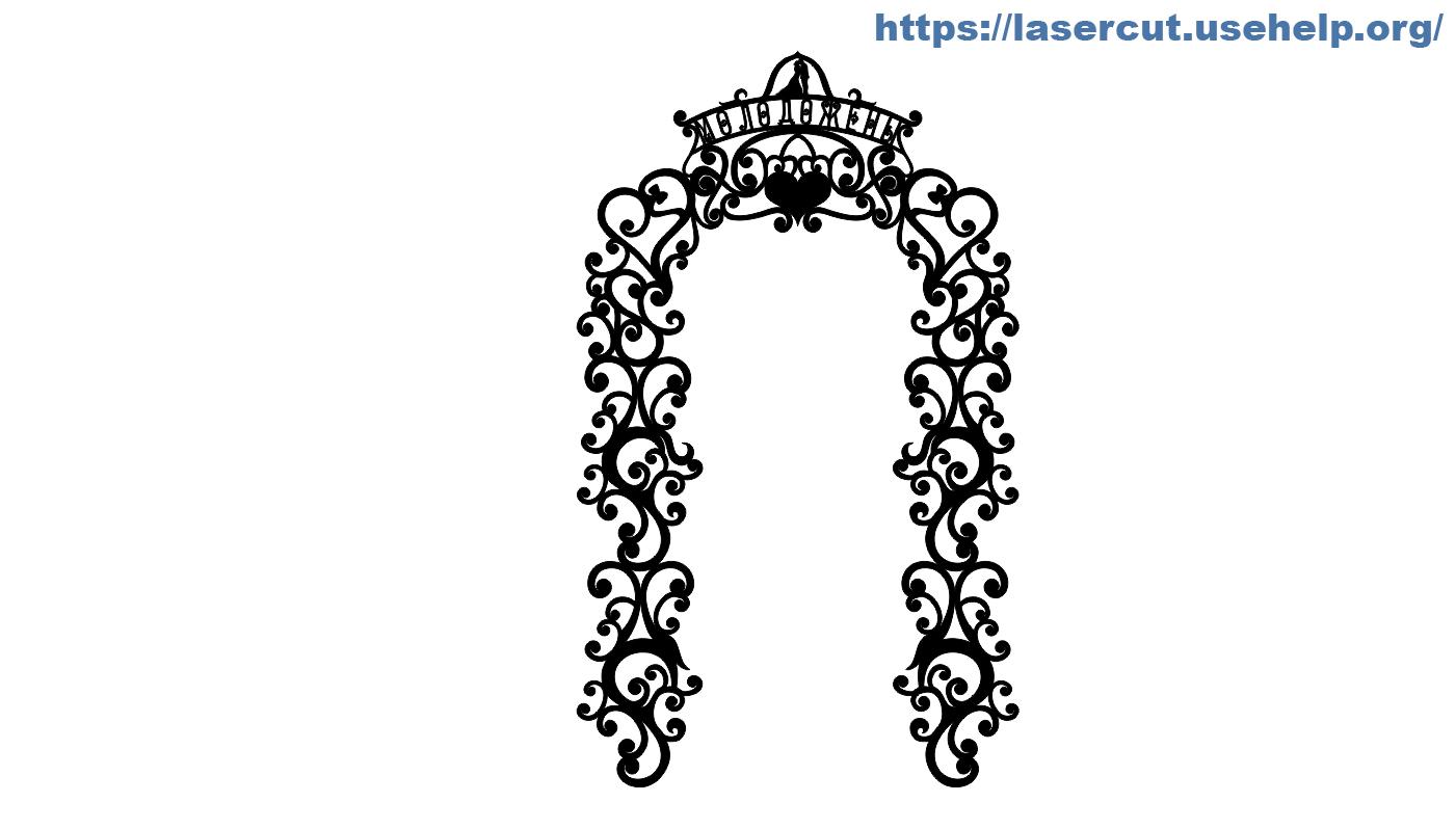 Свадебная арка №1
