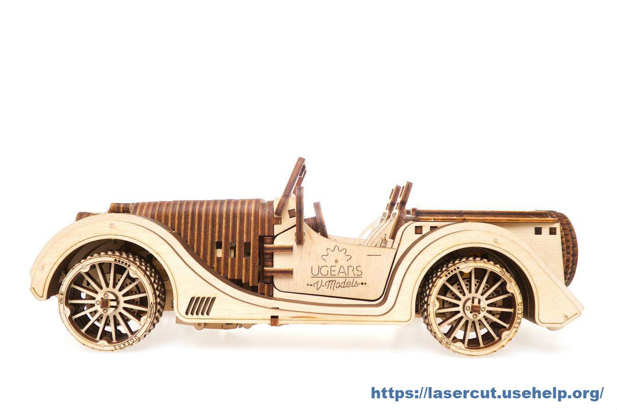 Чертеж автомобиль Roadster VM-01