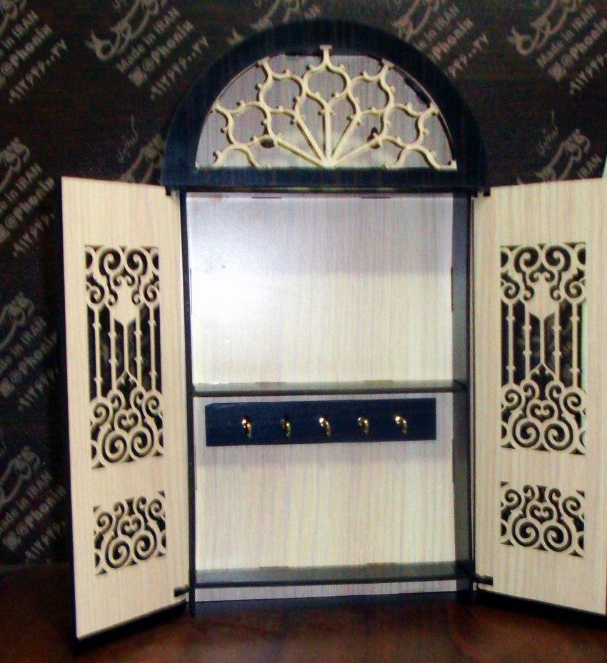Макет ключницы Винтажный шкафчик из фанеры