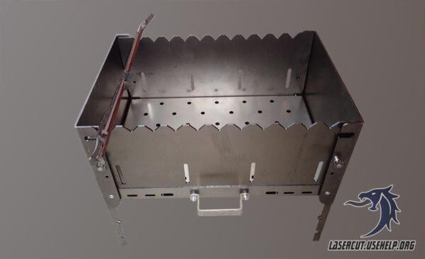 складной мангал-чемодан