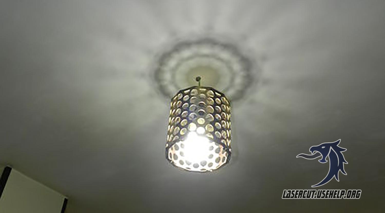 Макет Светильник декоративный малый из фанеры