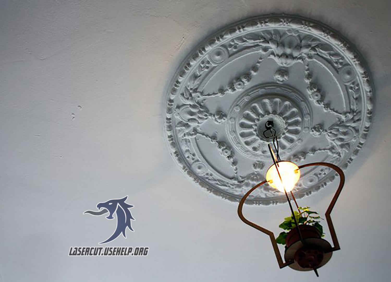 Макет Люстра из фанеры (1) из фанеры