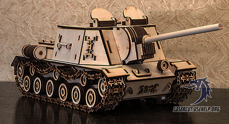 Макет танк ИСУ-152
