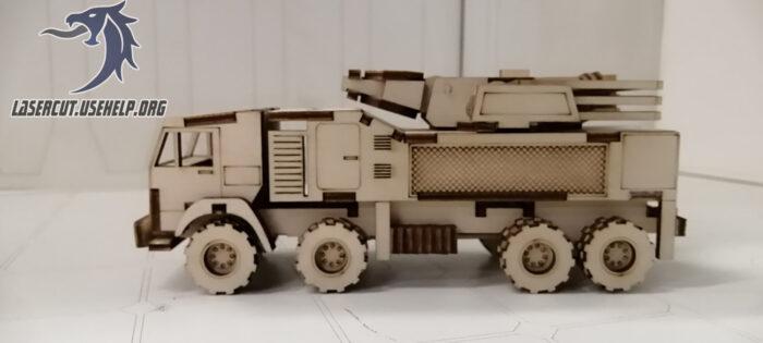 Макет военный авто из фанеры