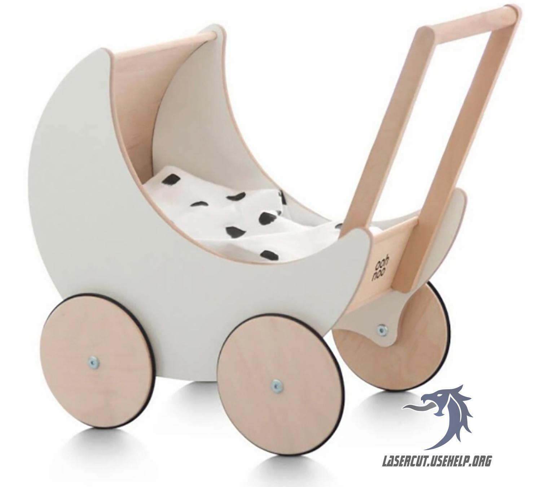 Макет коляска для пупса